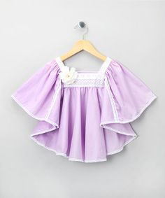 Take a look at this Lilac Hamilton Top - Infant, Toddler & Girls by La faute à Voltaire on #zulily today!