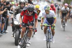 Elite men's road race Gallery: #CampbellFlakemore attacks on the final climb.