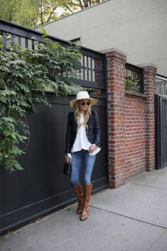 FALL BOOT WEEK // RIDING BOOTS WITH BLAZERS | Atlantic-Pacific