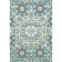 Decorate your modern home with the Room Envy Pismo Indoor Rug - Aqua. This floral medallion area rug boasts a bold color scheme that will instantly brighten up your living room. Made in India. Made in India. Throw Rugs, Room Envy, Accent Rugs, Woven, Machine Made Rugs, Power Loom, Rugs, Indoor Rugs, Floral Medallion Rug
