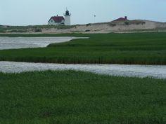 Cape Cod National Seashore • Salt Pond Visitors Center, Massachusetts. Cancellation stamp: July 10, 2011  1986-2011