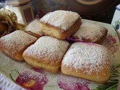 Bread Art, Food Gallery, Sweet Pastries, Greek Recipes, Baked Goods, Donuts, French Toast, Sweet Treats, Food And Drink