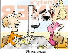 Coffee....yes Please! Too Funny <3