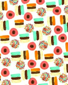 Licorice. #pattern #illustration #candy