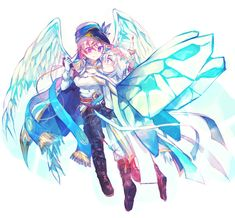Fairy, Kawaii, Wallpaper, Fictional Characters, Art, Kawaii Cute, Wall Papers, Tapestries, Fantasy Characters