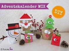 DIY ☆ Adventskalender ☆ MIX☆ Bastelset von Kuschelich auf DaWanda.com                                                                                                                                                                                 Mehr