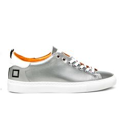 Spring Summer 2015 D.A.T.E. Sneakers Collection / Italian design / ACE GUM SILVER  on line store: http://bit.ly/1GKGI42