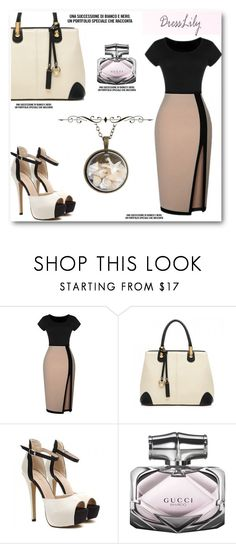 """""""Dresslily.com 31"""" by angelstar92 ❤ liked on Polyvore featuring Gucci and vintage"""