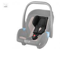 RECARO auto sedište Privia - HERO sistem naslon za glavu i pojasevi su jedna celina. Mekani sunđeri preko ramena, materijal je takav da ne iritira bebinu osetljivu kožu, a sistem pruža adekvatnu potporu bebinom vratu.