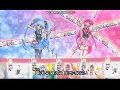 Happiness Charge Precure- Pretty Cure Memory. OMG. The animation here is beyond!!! La la la purikyua!