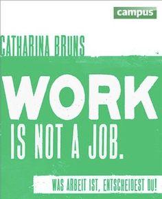 """내가 하고 싶을일을 하며 살고싶다   by Catharina Bruns  언어: 독일어, 2013년 출간, 224페이지, 페이퍼백, 저작가 직접 그린 일러스트레이션 포함  인생의 대부분을 일하며 보내는 우리…내가 지금 하고 있는 일이 정말 나와 맞는지 생각 해 보았을까? 9시에 출근해서 6시에 퇴근하는 직장이 아닌 내 꿈과 내 삶의 패턴에 맞는 일을 하면서 살고 싶지 않은가? """"내가 하고 싶은 일"""" 을 하며 살고 싶은 사람, 그런 """"꿈""""을 꾸는 사람들에게 영감을 주는 책이다. Catharina Bruns 는 디자이너이며 미디어 학자이다. www.workisnotajob.de 의 설립자이기도 하다. 창의적인 디자인 스튜디오로 '직장' 이라는 개념에 새롭고 긍정적인 정의를 더하고 싶어 끊임없는 연구를 실행하고 있다."""