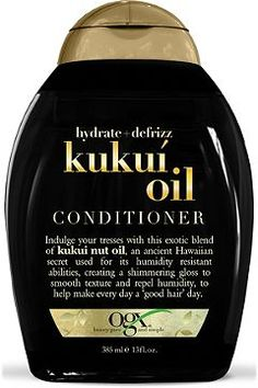 The OGX® Kukui Oil conditioner is a Kukui conditioner that contains Hawaiian Kukui nut oil to help resist against humidity, increase glow & smoothen hair. How To Grow Natural Hair, Natural Hair Care, Natural Hair Styles, Kukui Oil, Get Thicker Hair, Cool Braid Hairstyles, Modern Hairstyles, Black Hairstyles, Girl Hairstyles