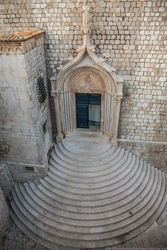 Door in Dubrovnik, Croatia