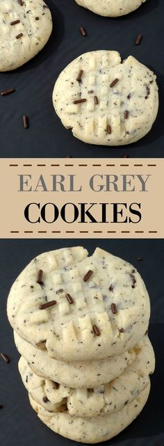 Earl Grey Cookies | Unwed Housewife | Simple, 6-ingredient Earl Grey cookies…