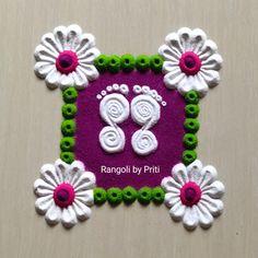 Rangoli Borders, Rangoli Border Designs, Rangoli Designs Diwali, Simple Rangoli, Free Hand Rangoli Design, Purpose, Crochet Necklace, Shorts, Short Shorts