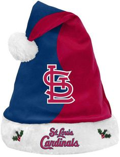 Forever Collectibles St. Louis Cardinals Knit Sweater Santa Hat