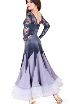DSI Ariana Ballroom Dance Dress 3200 | Dancesport Fashion @ DanceShopper.com