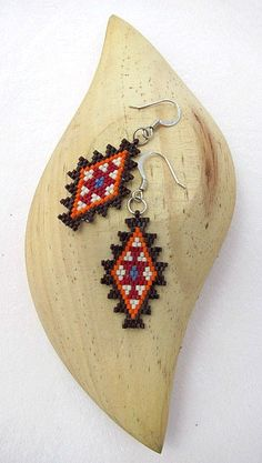 Hey, I found this really awesome Etsy listing at https://www.etsy.com/listing/209961297/seed-beaded-earrings-native-american