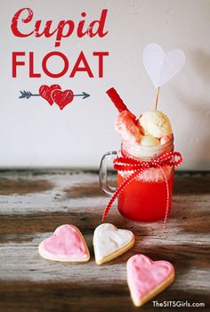 Cupid Float | Valentines Day Recipe | This is an easy to make treat your kids will love.