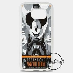 Steamboat Willie Tom Whalen Disney Mickey Mouse Samsung Galaxy S8 Plus Case | casescraft