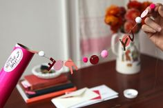 Valentine's Day craft, mailing tube, garland, can be used for any special occasion