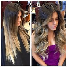 @jayrua_glam is a Las Vegas based hairstylist specializing in beautiful ombré's, fabulous cuts and big beautiful mermaid hair check him at!