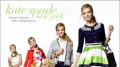 love the vintage feminine feel of Kate Kate Spade 2011