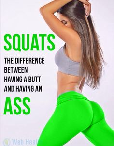Squats The difference between having a butt and having an ass. #ab_workouts