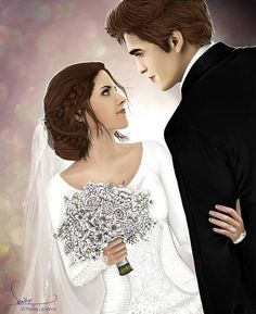 Bella y Edward casados :) Twilight Edward, Twilight Film, Twilight Poster, Vampire Twilight, Twilight Quotes, Twilight Saga Series, Twilight Breaking Dawn, Twilight Cast, Twilight Pictures
