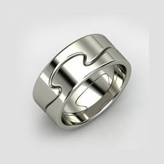 Puzzle of love ring set