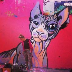 Cool cat! #streetart #urbanart #cats