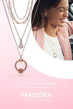 Create a look that's completely your own with Pandora stackable rings, bracelets, earrings and necklaces. Mom Jewelry, Jewelery, Jewelry Design, Pandora Necklace, Pandora Jewelry, Pandora Charms, Eyeglasses For Women, Love Ring, Fashion Jewelry