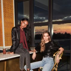 """Today, Canadian retailer Dynamite kicks off its newest campaign with two familiar faces – Jasmine Tookes and Josephine Skriver. The models (who also happen to be best friendsandbusiness partners) front the new fall collection, and are also the first duo to star in the brand's new #IAmDynamite muse series. The series """"encourages customers to bring […] The post Jasmine Tookes and Josephine Skriver Front Dynamite's First #IAmDynamite Campaign appeared first on FASHION Maga"""