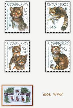 slovensko 2003.  wwf , stamps,MS.