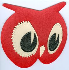 Great vinyl patch for Red Owl Grocery.