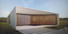 #ArquiteturaResidencial Minimalist Architecture, Facade Architecture, Residential Architecture, Arch House, Brick Facade, Facade House, Facade Design, Villa Design, Zen House