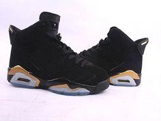 brand new 4e662 68c0a Air Jordan 6 Retro Black Gold