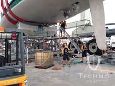 @TechnoCraftsl #Palma dismantling the #MarineScaffold and tenting that was covering #SYVisione. Visione is a 45m high performance sailing yacht built by Baltic Yachts and she has recently been covered by Techno Craft so that the contractors #RSFinishing could board, sand and apply the #antifoul to her. This would increase the performance level of #SYVisione giving her a faster racing finish. #wevegotitcovered #megayacht #luxury #superyacht www.technocraftsl.com