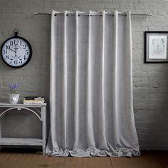 Velvet Sheen Curtain - Light Grey Decor, Furniture, Curtain Lights, Window Styles, Grey Curtains, Curtains, Basic Shower Curtain, Scatter Cushions, Cotton Blankets