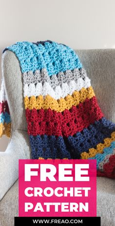 7 Quick and Easy Free Crochet Patterns That Anyone Can Make Crochet Crafts, Crochet Yarn, Crochet Projects, Free Crochet, Yarn Crafts, Crochet Ideas, Yarn Projects, Free Knitting, Granny Square Crochet Pattern