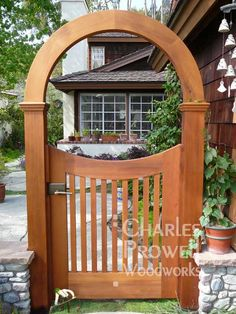 Gated Arbor Ideas Gardens Beautiful and Doors