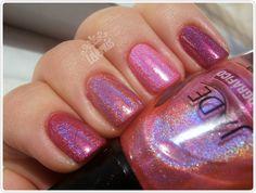 Pink Holo Comparison