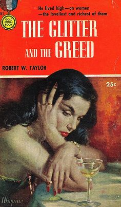 Robert Maguire took the black and the white and dark nights of noir and turned them into blood red kisses of death and lonely ashen smoke trails of lament.  Every falling pitch black hair, and every wondering eyebrow was important.  And just for the perfection of the painted hands on this cover, he should be considered one of the greats ever.