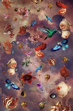 BN Wallcoverings Dutch Masters Daydream 1 - Murals | Wallpaperwebstore.com