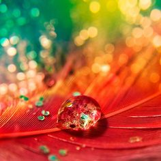 Colorful!! I love BRIGHT colors!!