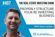 Today's Expert Guest is Steve Carlson! Steve is a veteran San Antonio based real estate investor and today he shares the key factors on how to build your business to stand the test of time. You're gonna love this show, don't miss it!