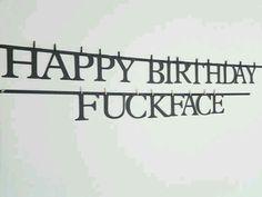 Rude birthday wishes