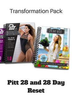 I'm going to give this transformation pack a try. Exercise program and nutrition plan.  Pitt 28 and 28 day reset.  affiliate link