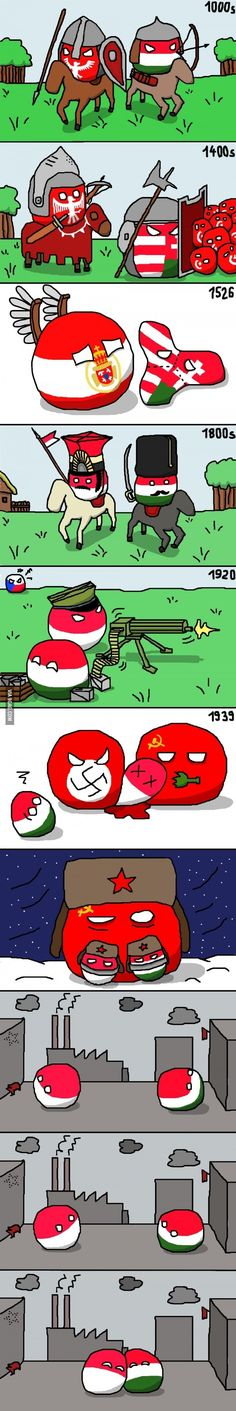 Polish and Hungarian friendship :)