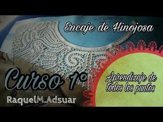 Veinticuatro Puntos del Encaje de Hinojosa. Primer Curso Completo paso a paso. Raquel M. Adsuar - YouTube